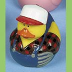 Farmer Ted Rubber Duck
