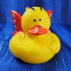 Red Butterfly Rubber Duck