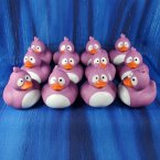 12 Crazy Purple Rubber Ducks