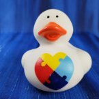 Autism Awareness Rubber Duck