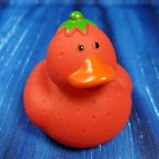 Strawberry Fruit Rubber Duck