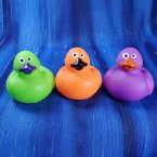 Trio of Halloween Colors Mini Rubber Ducks