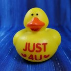 Text Rubber Duck JUST ❤4U❤