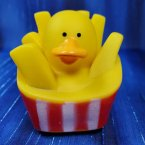 Fast Food French Fries Rubber Duck
