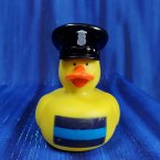 Thin Blue Line - Law Enforcement Rubber Duck - Police Officer