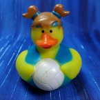 Summer Olympics Vollyball Rubber Duck