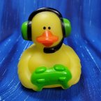 Green Gamer Rubber Duck