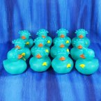 12 Patriotic Lady Liberty Rubber Ducks