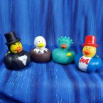 Patriotic Rubber Ducks - Abe Lincoln, Eagle, Liberty, Uncle Sam