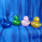 Glitter Rubber Ducks