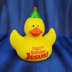 Happy Birthday Jesus Rubber Duck