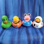 Astronauts & Alien Rubber Ducks