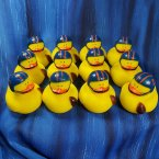 12 Football Rubber Ducks