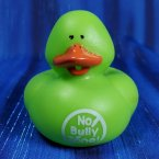 Anti-Bullying Rubber Duck - Green
