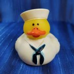 Military - US Navy Rubber Duck Dress Whites