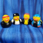 Biker Rubber Ducks