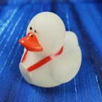 Glow-in-the-Dark Red Award Rubber Duck