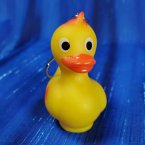 Yellow Rubber Duck Key Chain