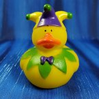 Jester Rubber Duck in Green