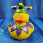Jester Rubber Duck in Purple