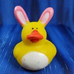 Easter Bunny Pink Rubber Duck