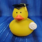 Graduation Rubber Duck with Diploma