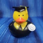 Graduation Rubber Duck in Robe