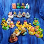 Mega Fun Pack! 24 Medieval Fantasy and Dragon Rubber Ducks!