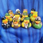 Fun Pack! 12 US Army Rubber Duck Assortment 2.0