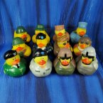 Fun Pack! 12 US Army Rubber Duck Assortment 3.0