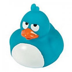 Crazy Blue Rubber Duck