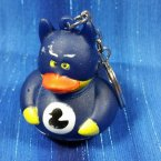 Batman Blue Rubber Duck Key Chain