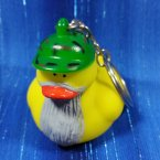 Retired Dynasty Rubber Duck Key Chain