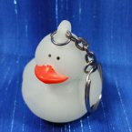 Glow in the Dark Rubber Duck Key Chain