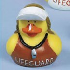 Lifeguard Rubber Duck Stephanie