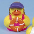 Lifeguard Rubber Duck CJ