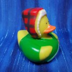 Lumberjack in Green Flannel Rubber Duck