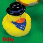 Old West Billy Rubber Duck