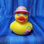 Beach Bucket Rubber Duck
