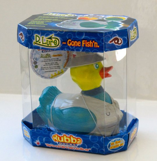 D.Lure Rubba Duck in 360 Collector's Case - Click Image to Close