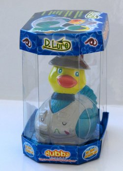 D.Lure Rubba Duck in 360 Collector's Case