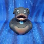 Rottweiler Dog Rubber Duck - Carl