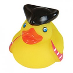 Captain's First Mate Pirate Rubber Duck