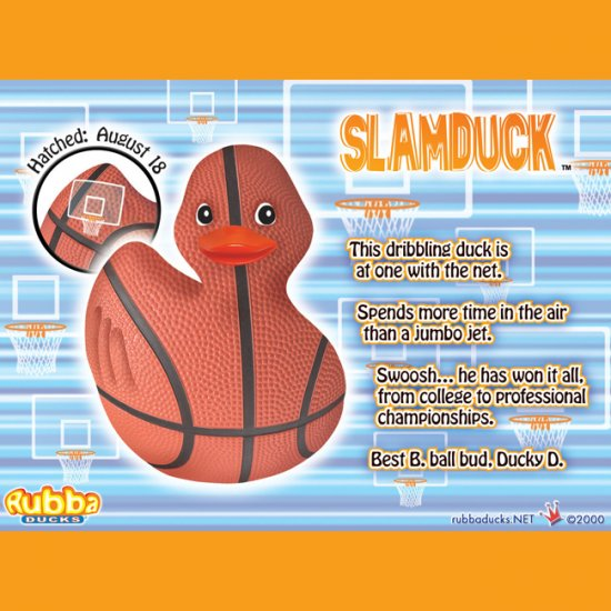 Slamduck Rubba Duck in 360 Collector's Case - Click Image to Close