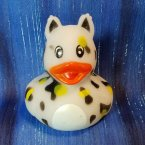 Zoo Animal Cheetah Rubber Ducky