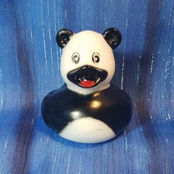 Zoo Animal Panda Rubber Ducky