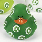 Green Recycle Rubber Duck