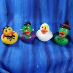 Bright Eyes Halloween Rubber Duck Set