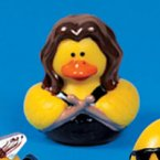 Rock Star Drummer Rubber Duck