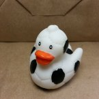"Limited Textured 2"" Soccer / Futbol Rubber Duck"